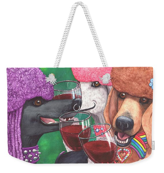 Three Wining Bitches Weekender Tote Bag