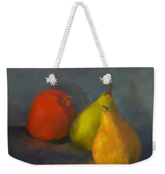 Three's A Crowd Weekender Tote Bag