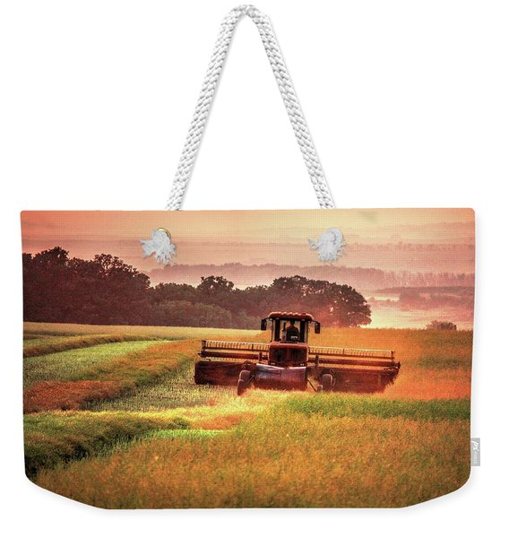 Swathing On The Hill Weekender Tote Bag