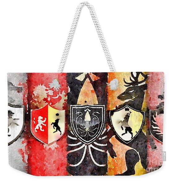 Thrones Weekender Tote Bag