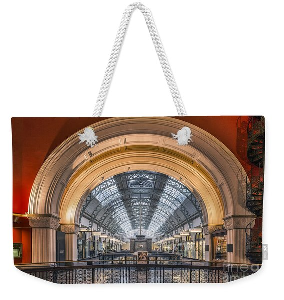 Through The Archway Weekender Tote Bag