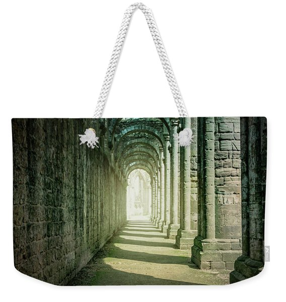 Through The Colonnade Weekender Tote Bag