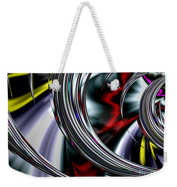 Through The Glass Weekender Tote Bag
