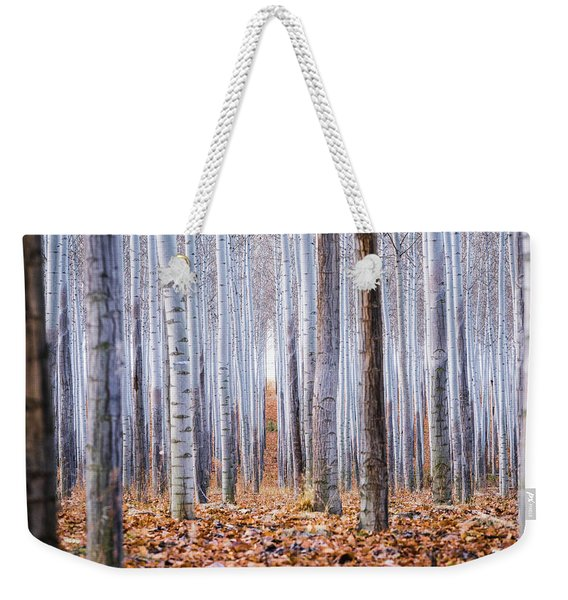 Through The Layers Weekender Tote Bag