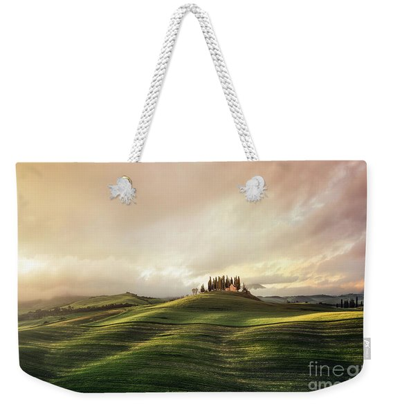 Through The Mists Of Dawn Weekender Tote Bag