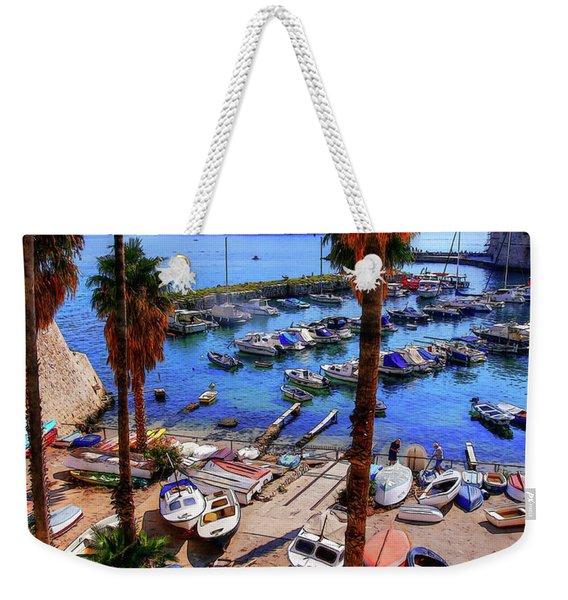 Through The Trees Dubrovnik Harbour Weekender Tote Bag