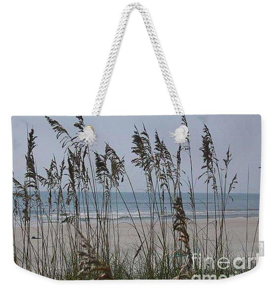 Thru The Sea Oats Weekender Tote Bag
