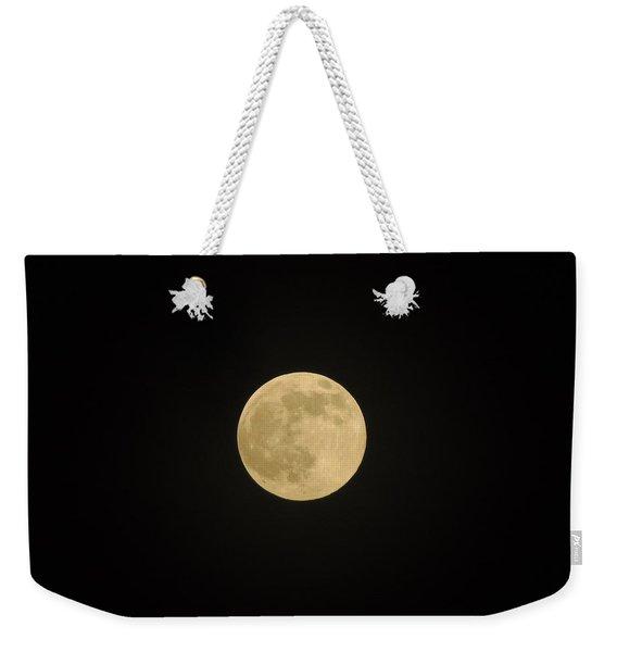 Thunder Moon Weekender Tote Bag