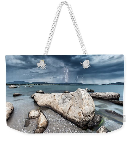 Thunderstorm  Weekender Tote Bag