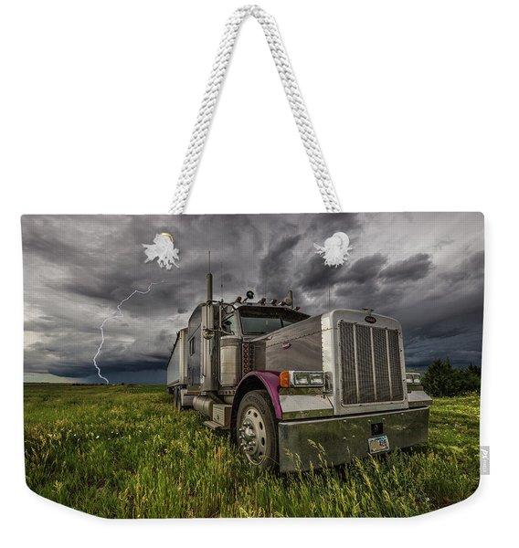 Thunderstruck Weekender Tote Bag