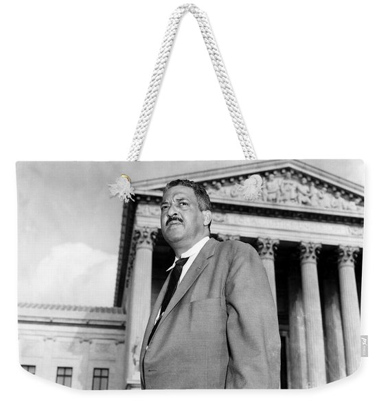 Thurgood Marshall Weekender Tote Bag