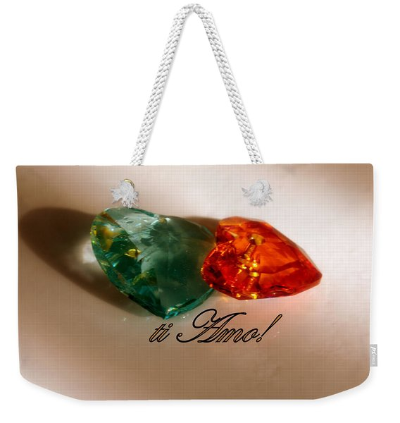 Ti Amo Weekender Tote Bag
