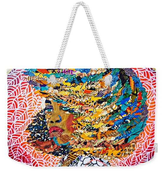 Ti Amor - I Am Not My Hair Weekender Tote Bag