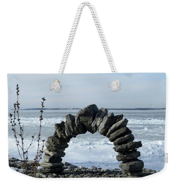 Tibbetts Point Arch Weekender Tote Bag