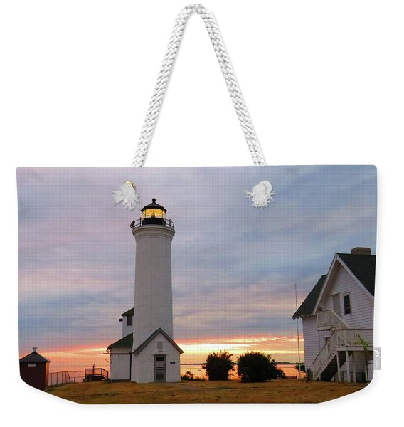 Tibbetts Point Lighthouse, July Sunset Weekender Tote Bag