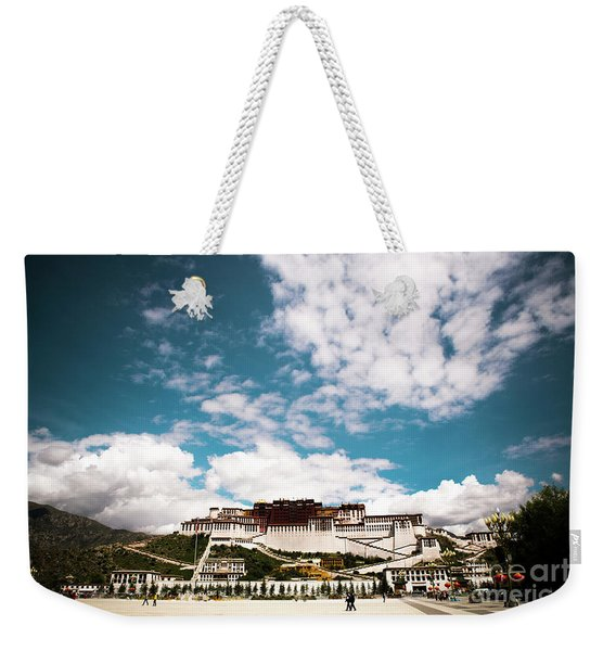 Tibet Potala Palace Dalai Lama Home Place. Kailash Yantra.lv 2016  Weekender Tote Bag