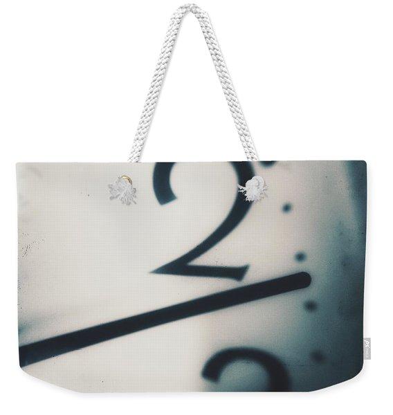 Tick Tick Tick Tock Weekender Tote Bag