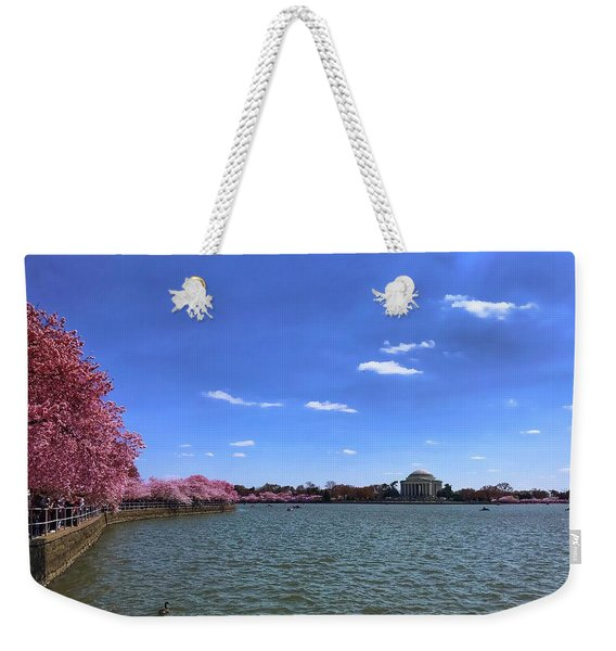 Tidal Basin Cherry Blossoms Weekender Tote Bag
