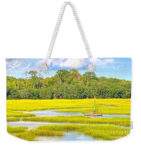 Tidal Castaway Weekender Tote Bag