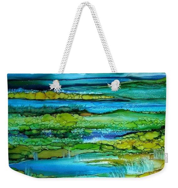 Tidal Pools Weekender Tote Bag