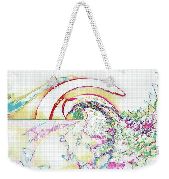 Tidal Wave Weekender Tote Bag