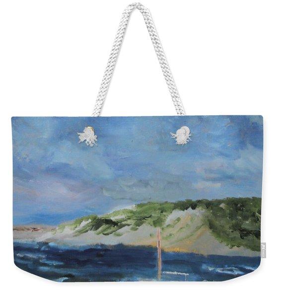 Tide Out Weekender Tote Bag