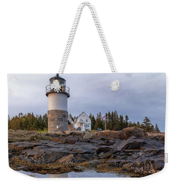 Tide Pools At Marshall Point Lighthouse Weekender Tote Bag