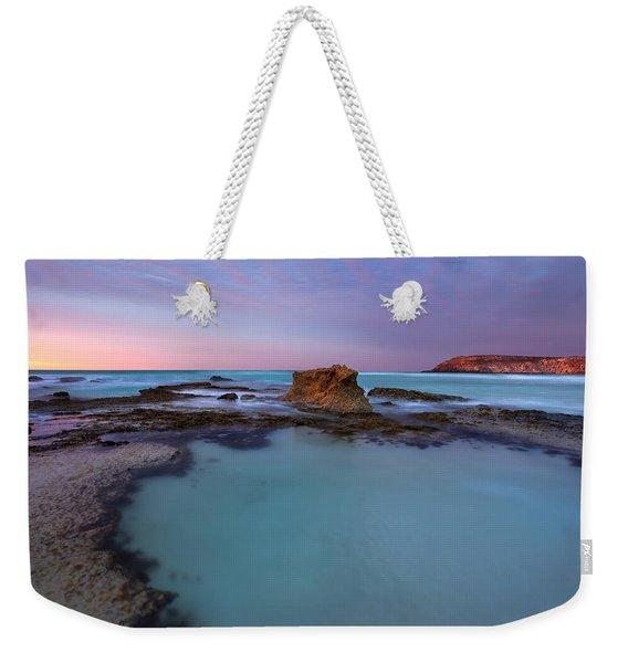 Tidepool Dawn Weekender Tote Bag