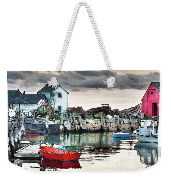 Tide's Out Weekender Tote Bag