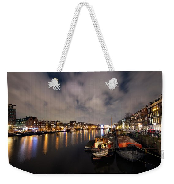 Tied Up Weekender Tote Bag