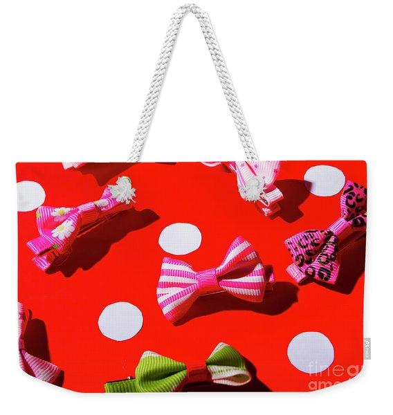 Ties To Fashion Weekender Tote Bag
