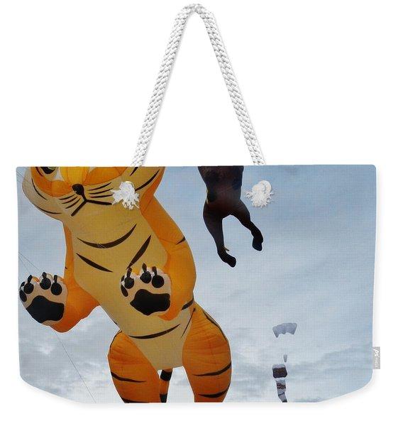 Tiger Kite Weekender Tote Bag