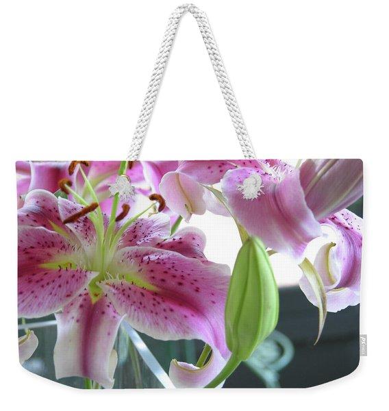 Tiger Lilies Weekender Tote Bag