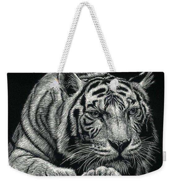 Tiger Pause Weekender Tote Bag