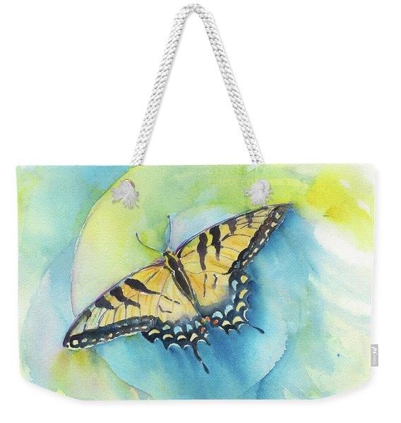 Tiger Swallowtail Weekender Tote Bag