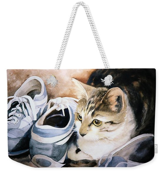 Tigger With Sneakers Weekender Tote Bag