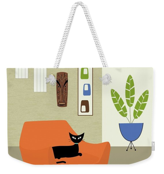 Tikis On The Wall Weekender Tote Bag
