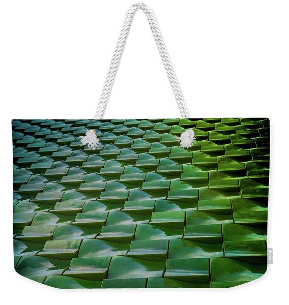 Tile Weekender Tote Bag