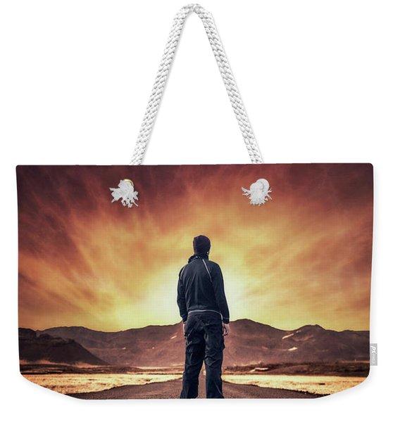 Till It Burns Weekender Tote Bag