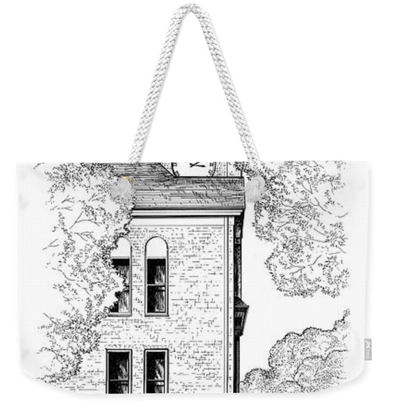 Tillman Hall Weekender Tote Bag