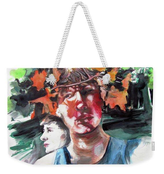 Time And Changing Seasons  Weekender Tote Bag