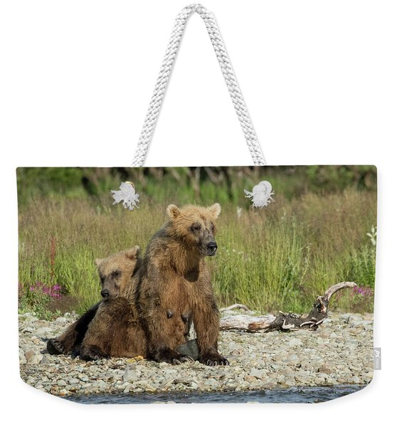 Time For A Nap Weekender Tote Bag