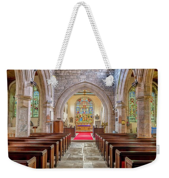 Time For Church Weekender Tote Bag