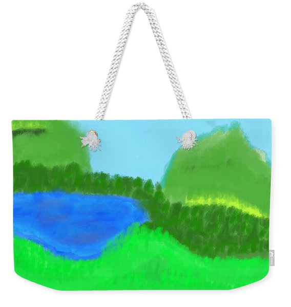 Time For Fishing Weekender Tote Bag