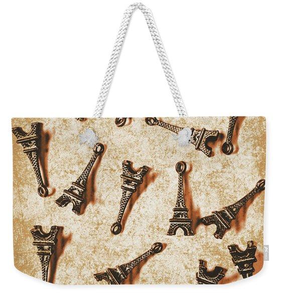 Time Worn Trinkets From Vintage Paris Weekender Tote Bag