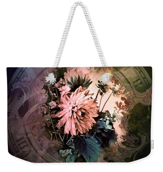 Timeless Dahlia Weekender Tote Bag