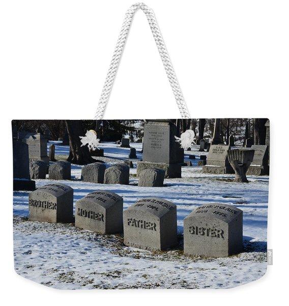 Timeless Family Weekender Tote Bag