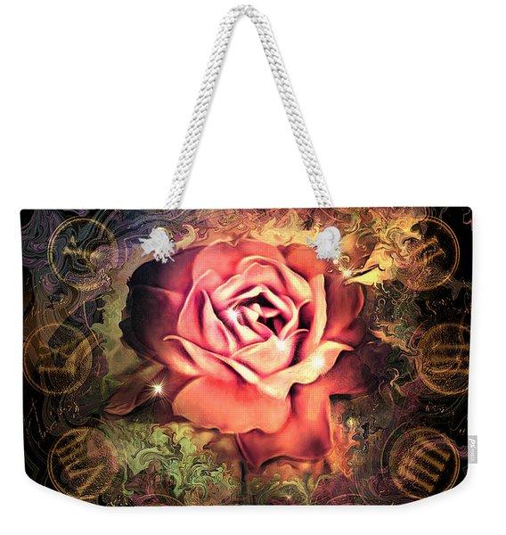 Timeless Rose Weekender Tote Bag