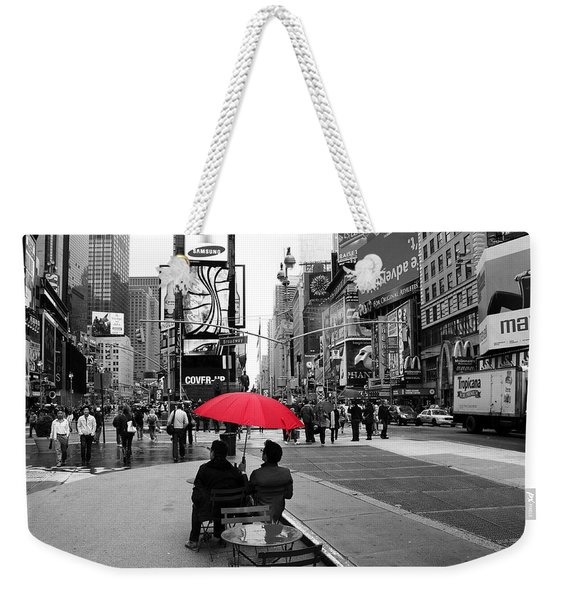 Times Square 5 Weekender Tote Bag