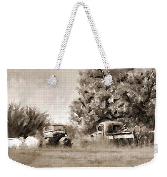 Timeworn Weekender Tote Bag